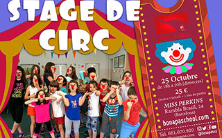 stage de circ barcelona